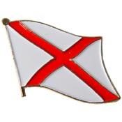 Alabama State Flag Lapel Pin.