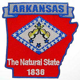 Arkansas Decorative State Patch