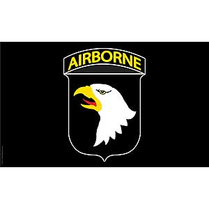 101st Airborne 3x5' Polyester Flag