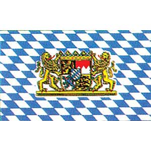 Bavaria w/Lions 3x5' Polyester Flag