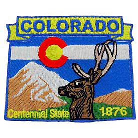Colorado Decorative State Patch