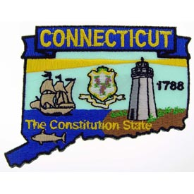 Connecticut Decorative State Patch