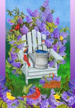 Lilacs&Birds