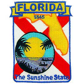 Florida Decorative State Patch