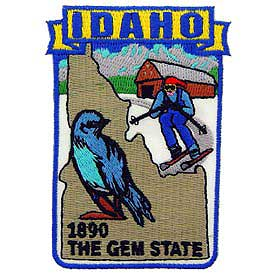 Idaho Decorative State Patch