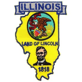 Illinois Decorative State Patch