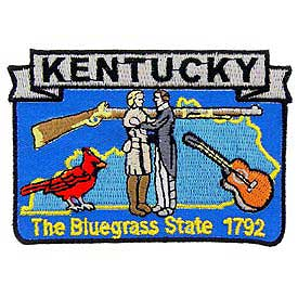 Kentucky Decorative State Patch
