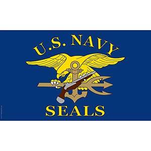 U.S. Navy Seals 3x5' Polyester Flag