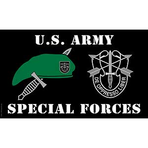 Special Forces 3x5' Polyester Flag